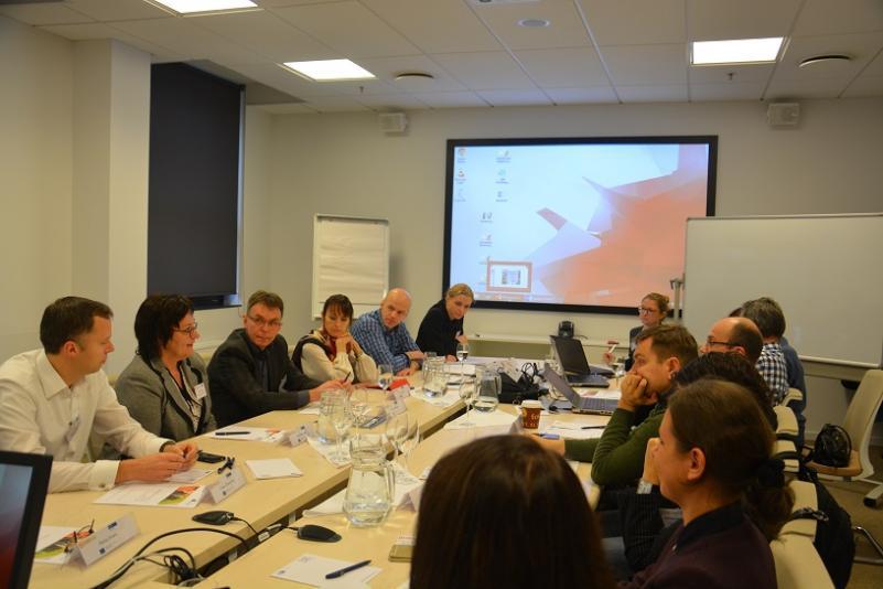 """Verslo vadybos fakulteto atstovai dalyvauja tarptautiniame """"Enterprise+ Innovation potencial meets experience"""" projekte"""