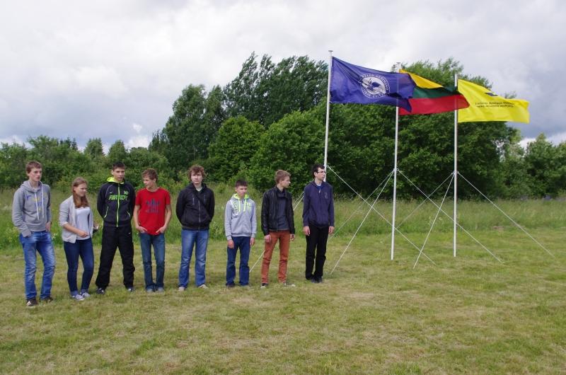 Skrydžių praktikų bazėje zujo jaunieji aviatoriai