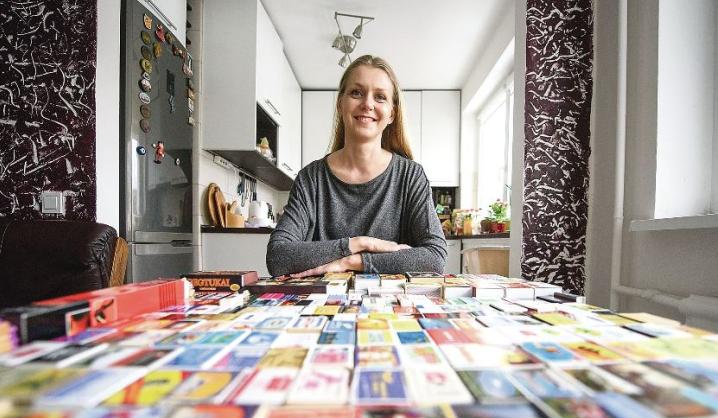 VGTU bibliotekininkės kolekcijoje – degtukų dėžutės iš viso pasaulio