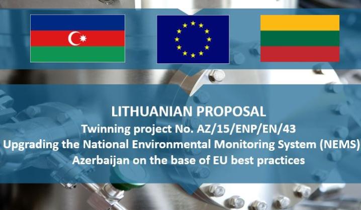 VGTU atstovė viešėjo Europos Sąjungos atstovybėje Baku