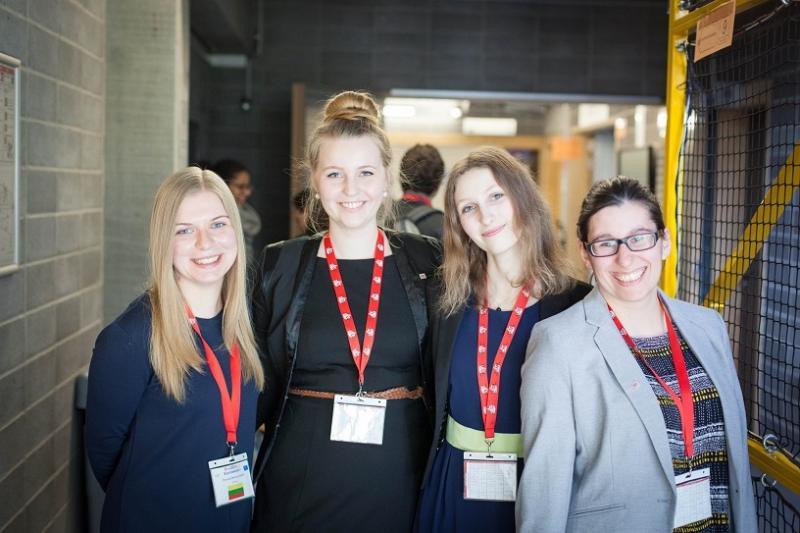 """VGTU studentės atstovavo universitetą """"Euroweek"""" 2016"""