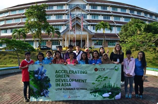 Malaizijoje vykusioje vasaros mokykloje dalyvavo VGTU studentė