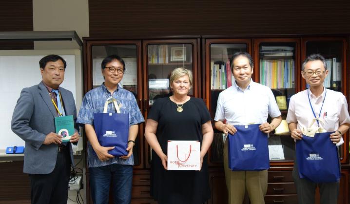 Japonijos universitetas rodo iniciatyvą didesniam bendradarbiavimui su VGTU