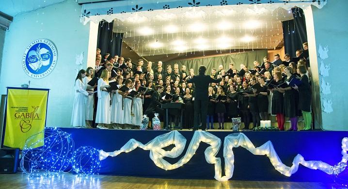 """XIII-a tarptautinė studentiškų chorų šventė """"Žiemos šviesa"""""""