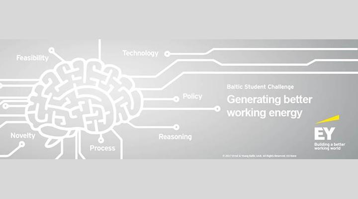 """EY skelbia inovatyvių idėjų konkursą """"Generating better working energy"""""""