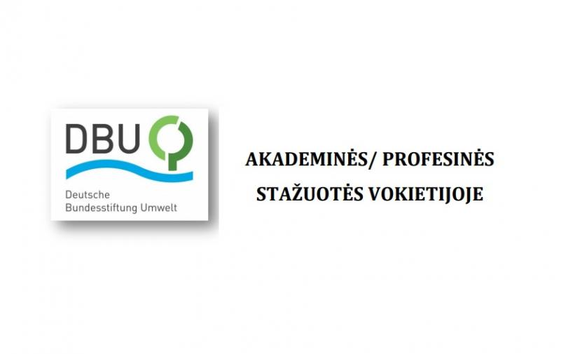 Akademinės bei profesinės stažuotės Vokietijoje magistrantams ir doktorantams