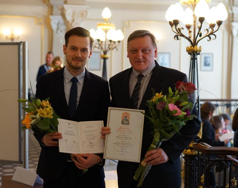 Lietuvos mokslų akademijoje apdovanoti geriausių mokslinių darbų laureatai – tarp jų ir du TIF atstovai