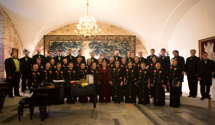 """VGTU akademinio choro """"Gabija"""" koncertas Taikomosios dailės ir dizaino muziejuje"""