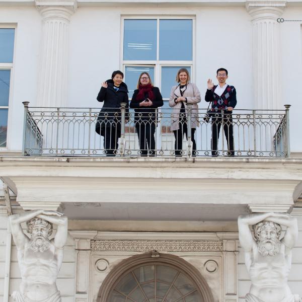 VGTU lankosi Kūrybinių industrijų ekspertė profesorė Li Dziašan