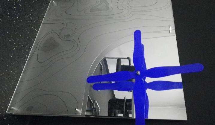 VGTU A. Gustaičio aviacijos instituto atnaujinimas įamžintas meno kūrinyje