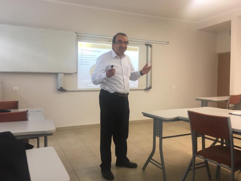 Guest from Business School – FEA, University of São Paulo, Brazil Assistant professor Alvair Silveira Torres Junior