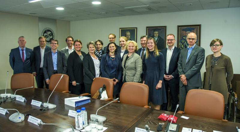VGTU stiprina partnerystę su Šveicarijos universitetais