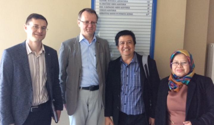 VGTU aplankė svečiai iš Indonezijos Bandungo technologijos universiteto