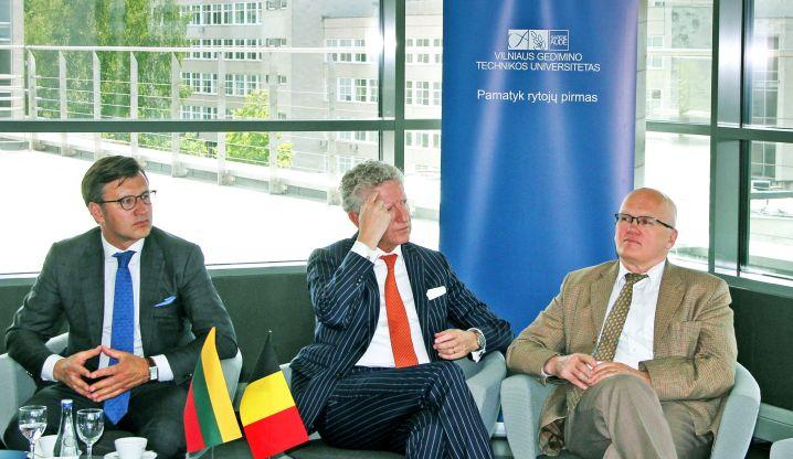 VGTU potencialu statybos srityje domėjosi svečiai iš Belgijos