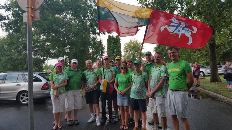 Kordinių aviamodelių pasaulio čempionate Lietuvos oro mūšio pilotų komanda tapo Europos čempione