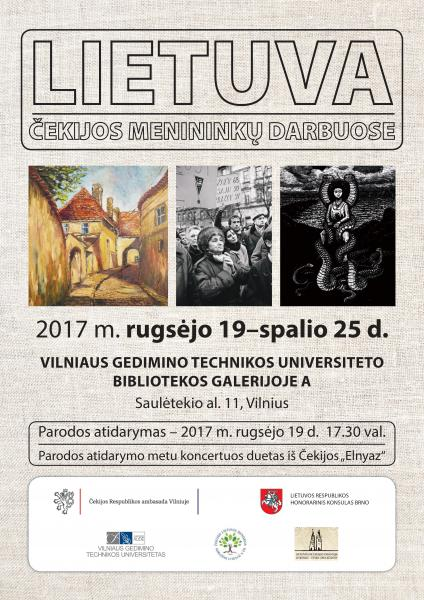 """""""Lithuania in the Works of the Czech Artists"""""""
