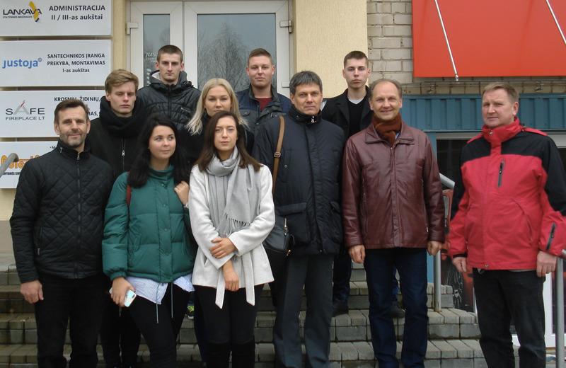 """""""INTEREG-V"""" projekto dalyvių susitikimas Alytuje"""
