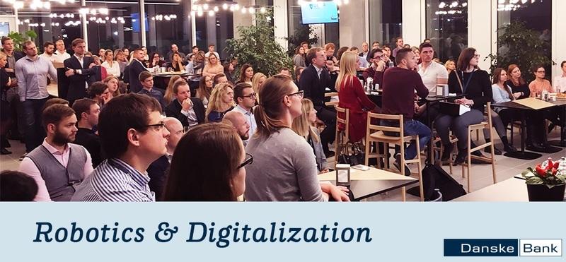 Danske Bank event for students