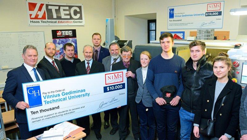 GHF fondo parama – Lietuvos metalo apdirbimo sektoriaus darbuotojų kvalifikacijai kelti