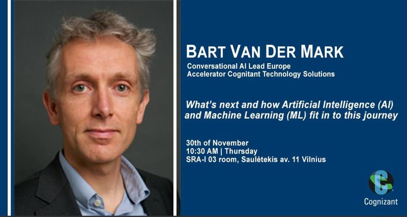 """THE PUBLIC LECTURE """"WHAT'S NEXT AND HOW ARTIFICIAL INTELLIGENCE (AI) AND MACHINE LEARNING (ML) FIT IN TO THIS JOURNEY"""""""