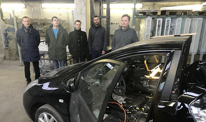 Transportininkai dalyvavo šiuolaikinių technologijų automobilių transporto specialistų mokymosi seminare