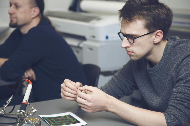 LinkMenų fabriką užplūdo techninės kūrybos entuziastai