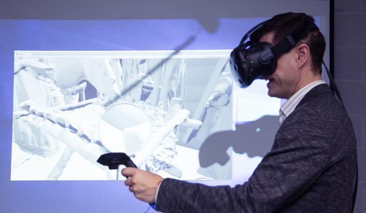 VGTU studentai virtualioje realybėje prikėlė Gedimino sapną