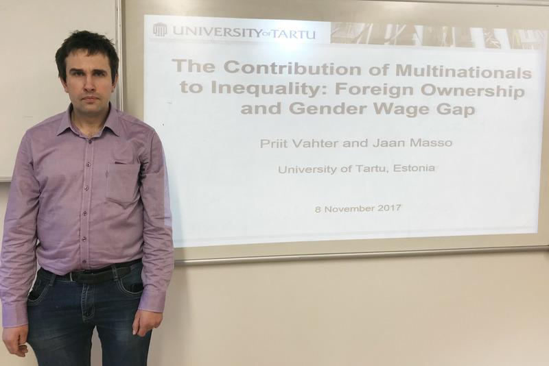 Š. m. vasario 5 d. vyko mokslinis seminaras VGTU akademinei bendruomenei