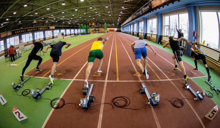 Baltijos šalių technikos universitetų lengvosios atletikos varžybose VGTU komanda iškovojo II vietą!