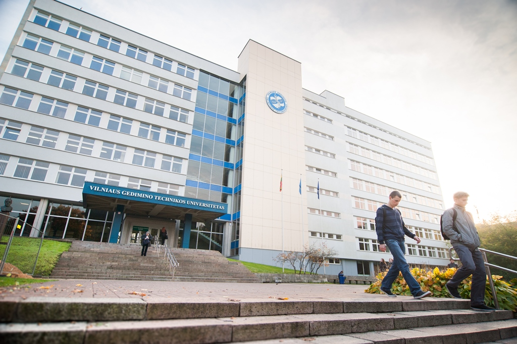 VGTU studijuojantys užsieniečiai dalyvavo paskaitoje apie karjerą