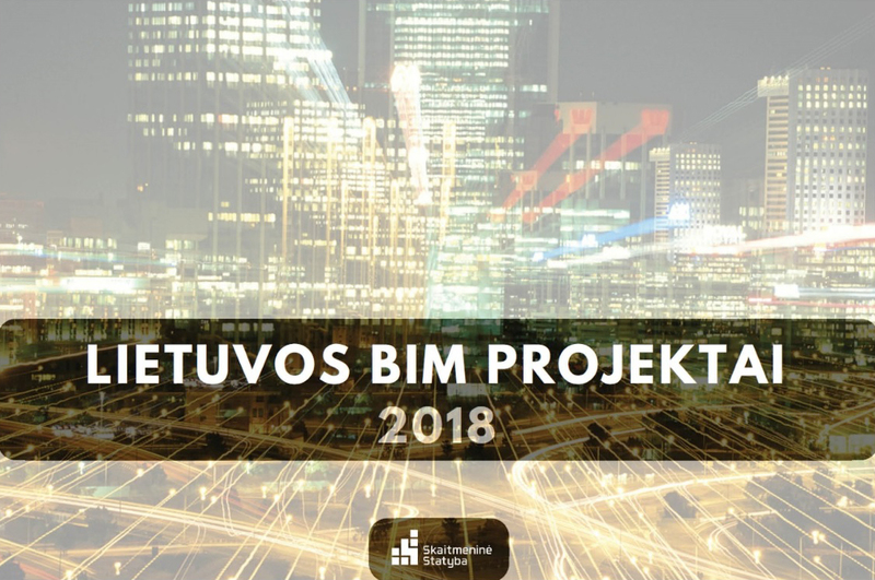 """Konkurso """"Lietuvos BIM projektai 2018"""" pristatymas RESTOS parodos metu"""