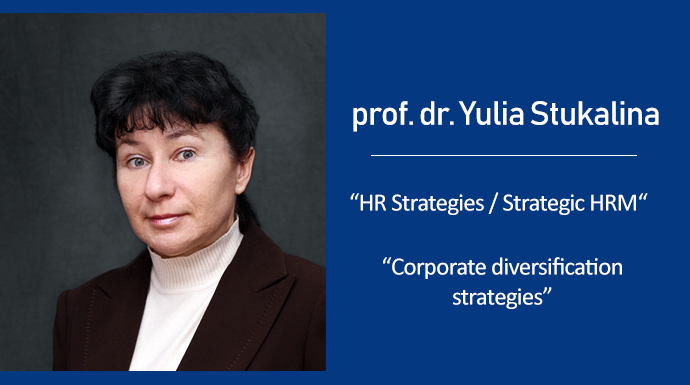 2nd May lectures by prof. dr. Yulia Stukalina