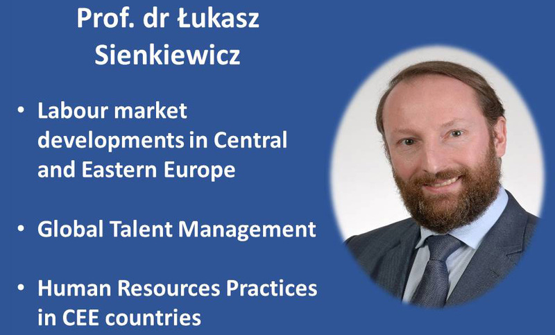 23-24 April lectures by prof. dr. Łukasz Sienkiewicz (Poland)