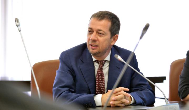 """VGTU viešėjo """"Horizontas 2020 CLUSDEVMED"""" projekto koordinatorius iš Italijos"""