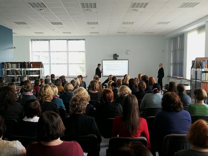 Akademinių bibliotekų praktinių patirčių seminaras sulaukė didžiulio susidomėjimo
