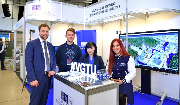 VGTU dalyvauja tarptautinėje statybų parodoje RESTA