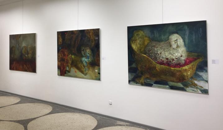 VGTU dėstytojos tapyba atstovauja Lietuvą šiuolaikinio meno festivalyje Art-Minsk