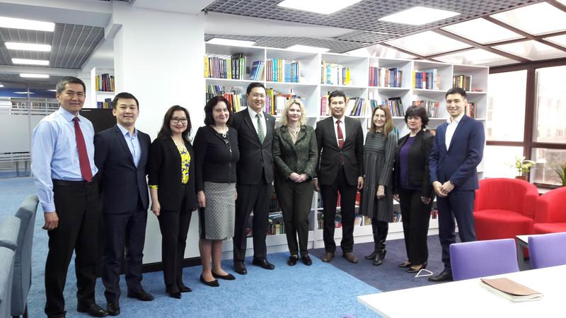 Vizitas į Kazachstano universitetus
