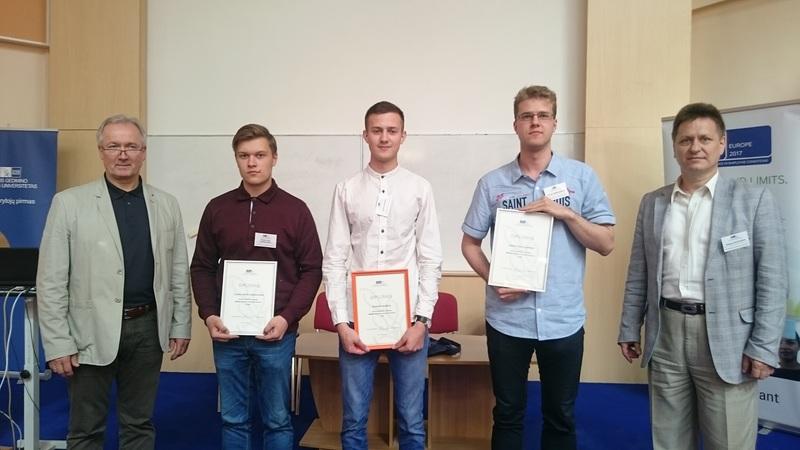 Medžiagų mechanikos olimpiadoje – VGTU studentų triumfas