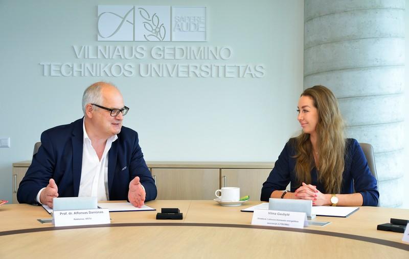 VGTU pasirašė bendradarbiavimo sutartį su LITBIOMA