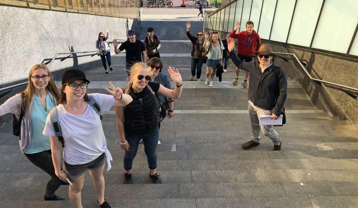 Architektūros fakulteto magistrantai tobulinosi Malmėje