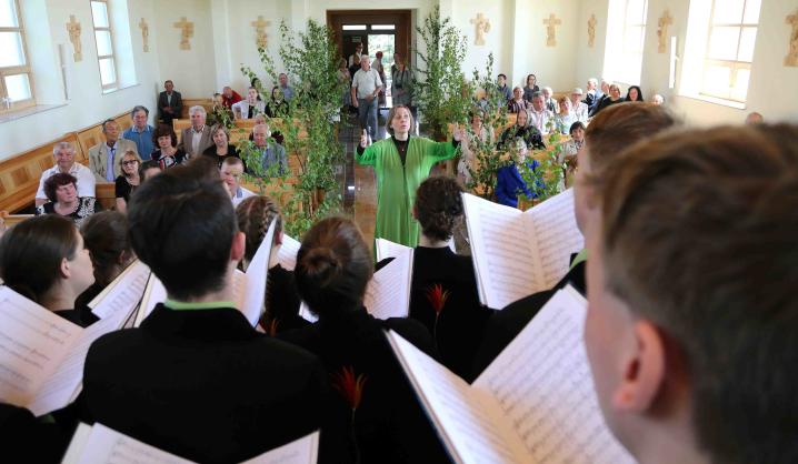 """VGTU choras """"Gabija"""" – sakralinės muzikos festivalyje"""