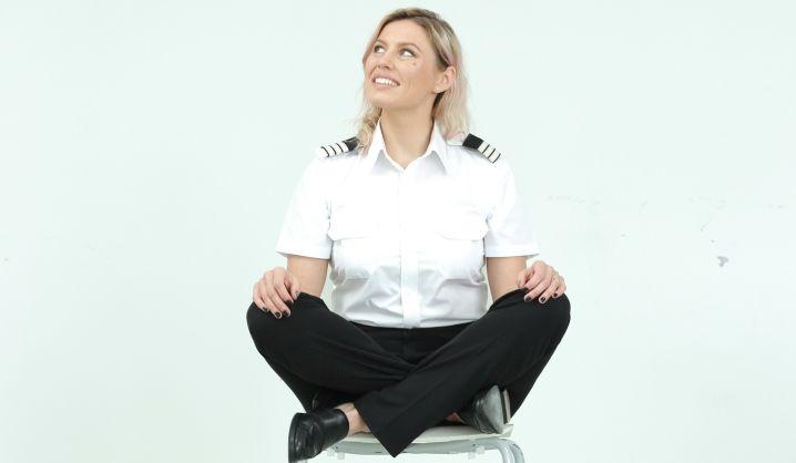 """Pilotė L. Malakauskaitė: """"Žinojau, kad skraidysiu"""""""
