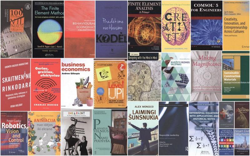 Naujai gauti leidiniai jau bibliotekoje