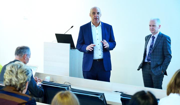Jungtinės Karalystės Coventry universiteto atstovų seminarai VGTU darbuotojams