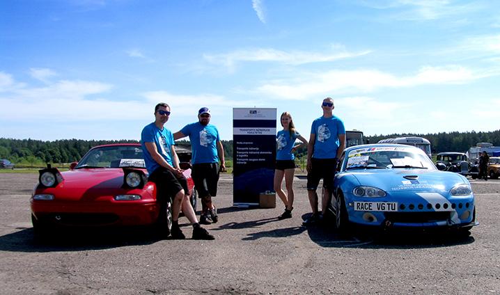 Transporto inžinerijos fakulteto Race VGTU komanda dalyvavo Formula Junior varžybose