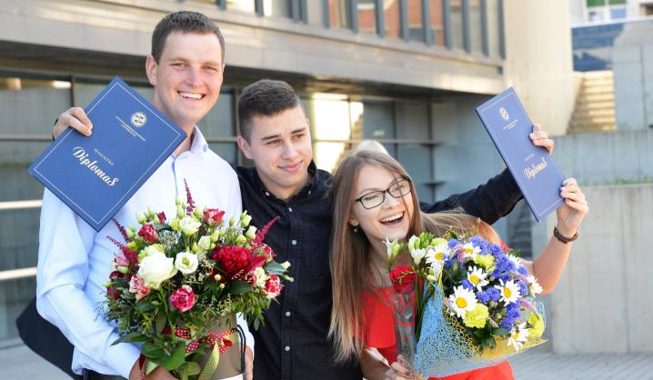 Šventinė savaitė VGTU: diplomai buvo įteikti daugiau nei 2000 absolventų