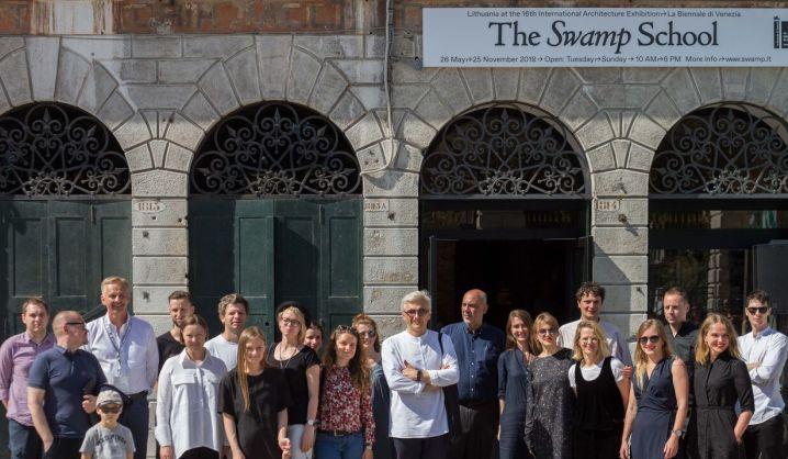 Venecijos architektūros bienalėje patirties semiasi VGTU studentai