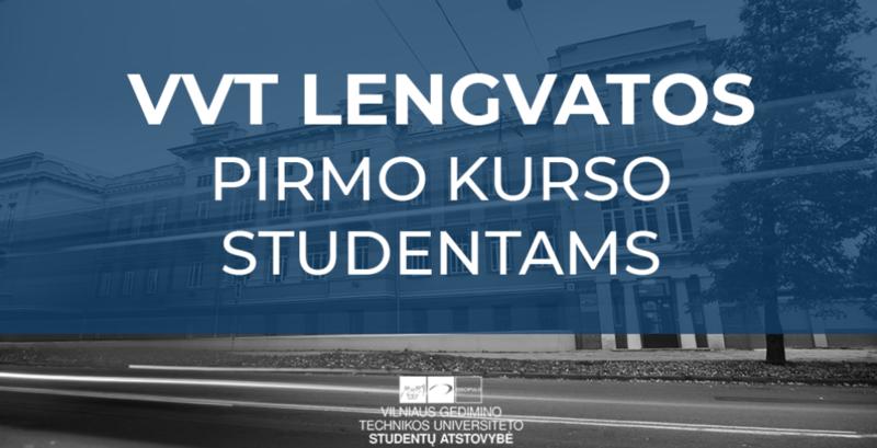 Rugsėjo mėnesį – VVT lengvatos studentams, dar neturintiems LSP