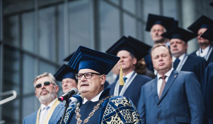 VGTU Rektoriaus sveikinimas Rugsėjo 1-osios proga